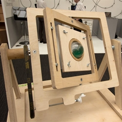 You know you want a vacuum forming and rotational molding kit in a wooden box. Great project to get manufacturing and design into school, Micro Make by William Banfield.