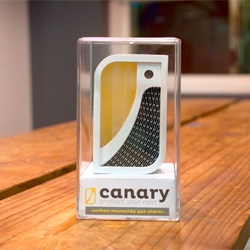 Matt Blum, Lauren Meleney and Matthew Crowley's Canary, a modern, friendly, and intelligent carbon monoxide detector.