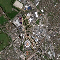 A look at London's Olympic venues from space!