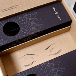 Yiu Studio's great packaging for Rivet & Sway is an online shopping boutique focused exclusively on women's prescription glasses.
