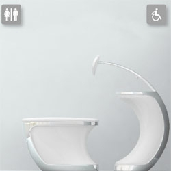 "Taking the ""Dis"" Out of Disabled , UNIVERSAL TOILET By Changduk Kim and Youngki Hong"