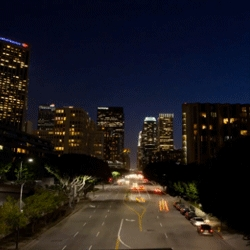 Nightfall by Colin Rich a three minute tour of light through the City of Angels. Beautiful!