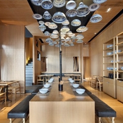 Taiwan Noodle House 2 by Golucci International Design in Beijing.