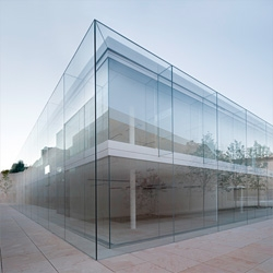 Beautiful new offices for Junta de Castilla y León by Alberto Campo Baeza in the city of Zamora.