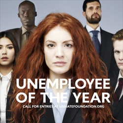 UNEMPLOYEE OF THE YEAR is a contest created by United Colors of Benetton for young people all over the world. The contest is the latest of the company's UnHate projects.