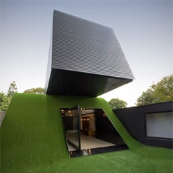 The unconventional Hill House in Melbourne by Andrew Maynard Architects.