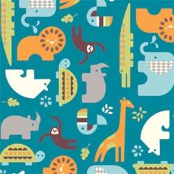 Safari Soiree, cute new line of fabrics from Birch Fabrics by Dan Stiles.