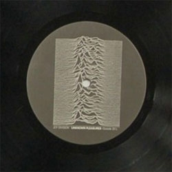 Joy Division's legendary 1979 album cover for Unknown Pleasures is early data visualization of the first observed pulsar, a rapidly rotating electromagnetic star!