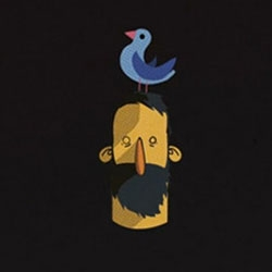 Cuckoo, adorable animation by Alexander Pettersson.