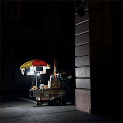 Photographer Christophe Jacrot's photographs of New York in Black.