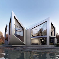The Dynamic D*Haus by The D*Haus Company, David Ben Grünberg and Daniel Woolfson.