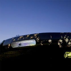 Korea's new Jeongok Prehistory Museum designed by X-TU Architects.