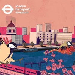 Beautiful illustrations on exhibition at the London Transport Museum as part of The Serco Prize for Illustration 2012.
