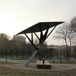 Black Tree by Miloš Milivojevic for the renewable energy company Strawberry Energy in Belgrade.