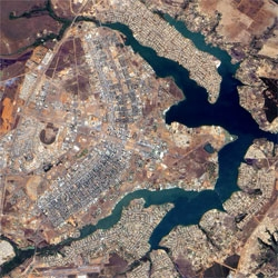 Wired's look at planned cities as they appear from space.