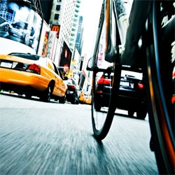 Tom Olesnevich's fantastic photos of NYC by bike.
