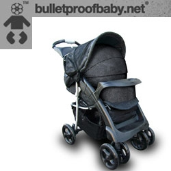 Is it for real? Bullet Proof Baby ~ strollers, riot gear, you name it... with VIDEOS.