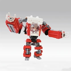 A LEGO Santa Claus Mech for delivering all those toys.
