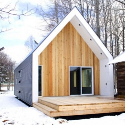 An extruded Canadian home extension from bioi.