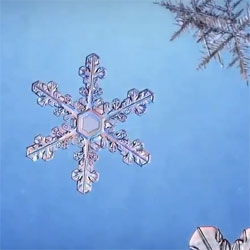 An exploration of the chemistry behind the formation of snowflakes from the American Chemical Society.