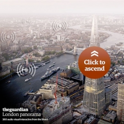 The Guardian shares the view of London from atop the Shard.