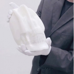 Pure White Paper by Li Hongbo, created from thousands of layers of paper.