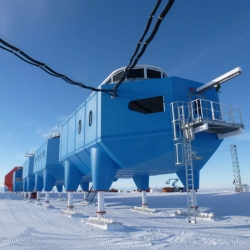 A look at the newly opened Halley VI Antarctic Research Station, designed by Hugh Broughton Architects.