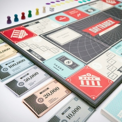 Daytrader, the new board game from Samir Lyons.