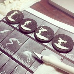Oreogami, animation on Oreo cookies from Kelly Cheatle.