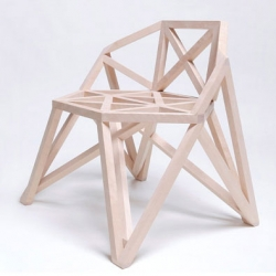 The Strelis Bridge Chair by Arthur Analts.