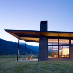 Peaks View residence in Wyoming from Carney Logan Burke Architects.