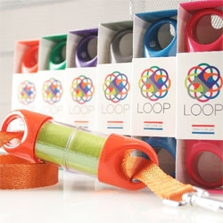The Loop dog waste bag dispenser from Loft 312