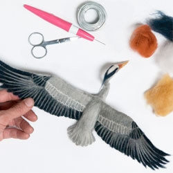 The felted taxidermy of Kiyoshi Mino.