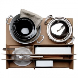The Malle W. Trousseau, a complete collection of kitchenware from Isabelle Mathez and Frédéric Winkler.