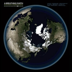 A Breathing Earth, stunning animation created by John Nelson using images from NASA's Visible Earth.