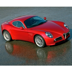 The production version of the Alfa Romeo 8C Competizione makes its debut in a couple of weeks at the Paris auto show... gorgeous - definitely counts as designer eye-candy