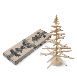 Cute packaging from Shuttle Studio for Tidda Wooden Christmas Tree.