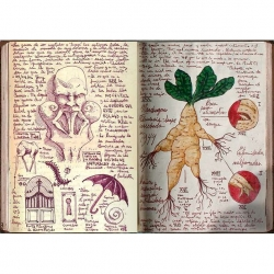 A look inside the sketchbook of Guillermo del Toro.