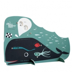 The underwater race, a cute perpetual calendar from Pleased to Meet.