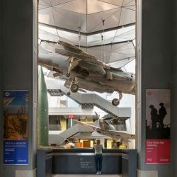 A look inside London's newly reopened Imperial War Museum from Foster + Partners.