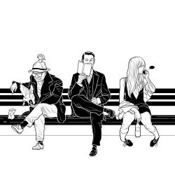 Editorial illustration by Martin Ansin.
