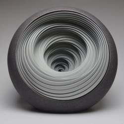 Intricate ceramic sculptures by Matthew Chambers.