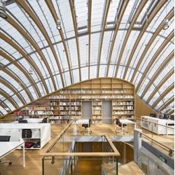 The Fondation Jérôme Seydoux-Pathé in Paris by Renzo Piano Architects.
