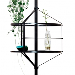 Voliera, an aviary inspired shelf by Pietro Russo.