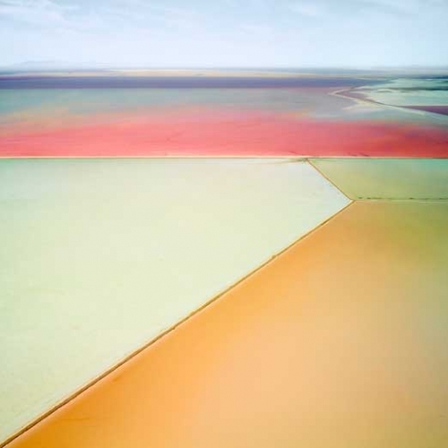 Beautiful images of salt fields by David Burdeny. Salt: Fields, Plottings and Extracts 2015-2016.