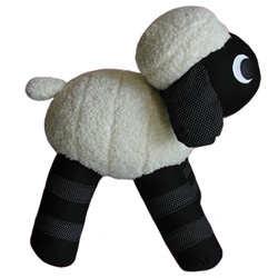 On silly stuffed toys ~ Jemma Williams' Lamb caught my eye