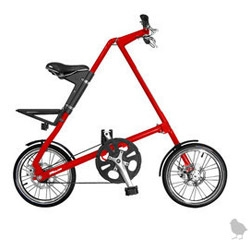 When I first saw the Strida bike I realized how wondrous these things really can be for city folk. The STRiDA was invented in the UK ~ unique triangle construction, greaseless chain, and six second fold time