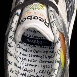 John Maeda, the MIT Professor, known for fusing art with mathematics, now collaborated with Reebok on an incredible pair of sneakers - the Timetanium. Impressive!