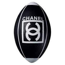 The Chanel Football by Karl Lagerfeld. $195 at select Chanel boutiques; Jeffrey, 449 West 14th Street; and Maxfield, Los Angeles.