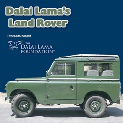 """Happiness is not something ready made. It comes from your own a(u)ctions. Up for sale on eBay is this 1966 Land Rover 88"""" Station Wagon, the official car of the 14th Dalai Lama."""